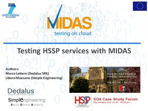 Testing HSSP Services with MIDAS